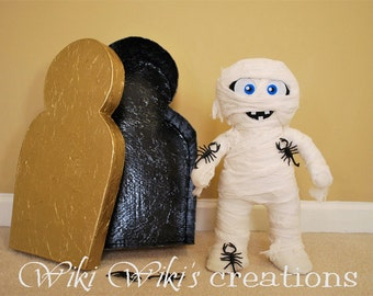 Plush Mummy Doll
