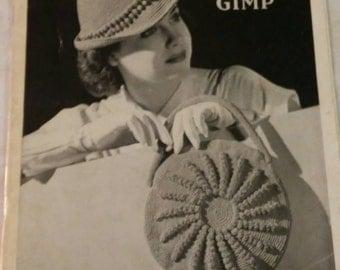 Vintage 1940s Mogor Crochet 11 Page Booklet