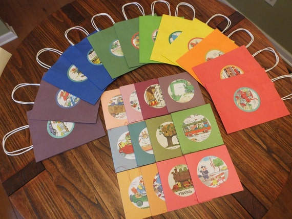 RESERVE for Erin Richard Scarry coloring books and gift bags