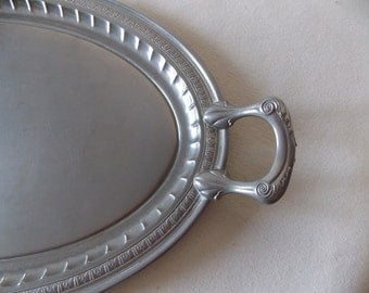 Vintage Manning Bowman And Co Art deco Sterving Tray
