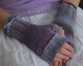 TOASTIES Knitting Pattern  - Adults Kids - Fingerless Mitts, Handwarmers PDF File