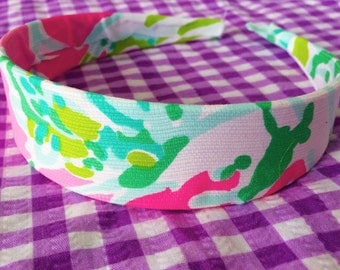 Made to order Lilly Pullitzer Looking  headband
