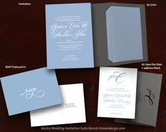 JESSICA Invitation Suite Printables