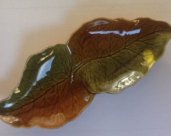 Vintage Royal Winton leaf dish