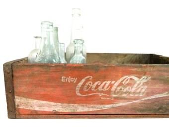 Vintage Coca Cola Crate Coke Crate