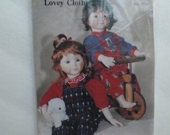 Lovey Doll Clothes pattern--Gently Used