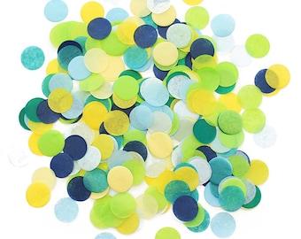 Jumbo Tissue Paper Confetti - Citrus Splash