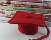 Graduation Cap Dogs, Hat Dogs, Pet Hat, Dog Hat, Felt Dog Hat, Cat Felt Hat, Cat Hat