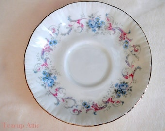 Paragon Romance Replacement Saucer, English Bone China Replacement Saucer