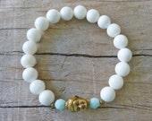 bohemian jewelry, Buddha bracelet , yoga jewelry, beachcomber bohemian bracelet