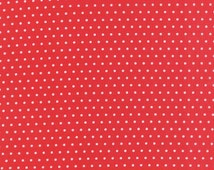 Vintage Picnic - Spot in Red - Bonnie and Camille for Moda - 55128 11 - 1/2 Yard