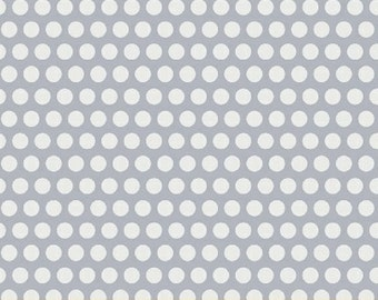 Uppercase - Dotty in White - Janine Vangool for Windham Fabrics - 41823-3 - 1/2 Yard