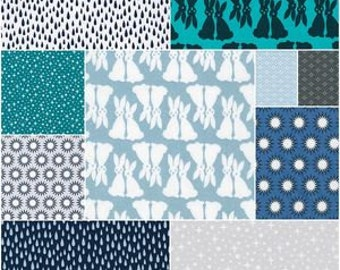 PRESALE - Pacific - Fat Quarter Bundle of 20 prints - Elizabeth Hartman for Robert Kaufman Fabrics - PACIFIC-FQ