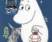 Moomin postcard A6