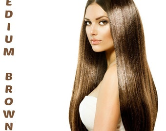 Henna Maiden Medium Brown 100% Natural Chemical Free Hair Coloring (801)