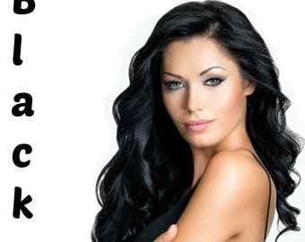 Buy 3 Get 1 Free: Henna Maiden Black 100% Natural Chemical Free Hair Coloring (808)