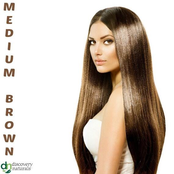 Henna Maiden Medium Brown 100% Natural Chemical Free Hair Coloring (801)