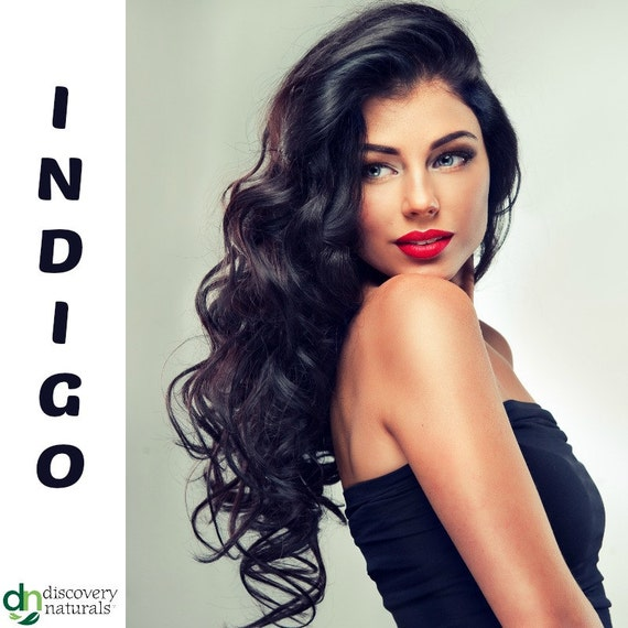 Henna Maiden Pure Indigo 100% Natural Chemical Free Hair Coloring (810)