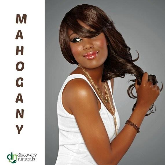 Buy 3 Get 1 Free: Henna Maiden Magnificent Mahogany 100% Natural Chemical Free Hair Coloring (805)