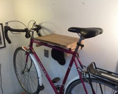 Live Edge Myrtle Bike Rack. US shipping included.