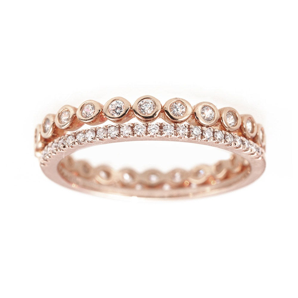 unique eternity ring micropave by sillyshinydiamonds