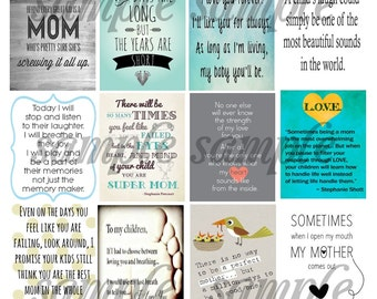 Mom, Quote, Plum Planner, MAE, Planner Stickers, Option 1, Family, Children, Kids, Love, Life, Home, Heart, Mother, Parents, Baby