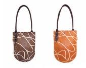 Leather handmade bag, Hobo Bag, Leather bag, Brown Bag