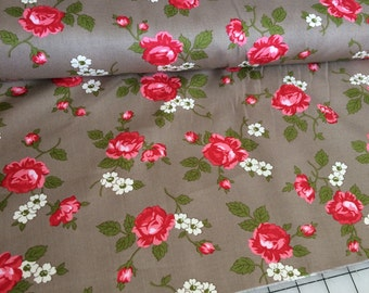 Scattered Rosebud fabric by Verna Mosquera