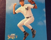 DEREK JETER 1993 ROOKIE Card New York Yankees Baseball Vintage