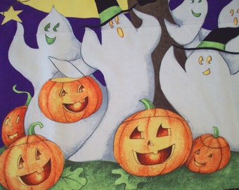 DIY Halloween Fabric/Wall Hanging Panel