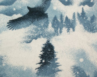 Snuggle Flannel Prints - Soaring - 29 inches