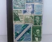 Vintage postage stamp Christians