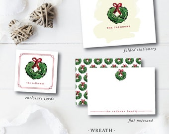 Design Your Own HOLIDAY ENCLOSURES | Wild Violet Watercolor Designs | Holiday | Darby Cards Collective