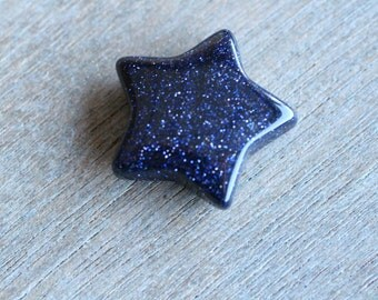 Blue Goldstone Star H82