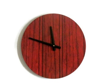 Sale, Rustic Wall Clock, Unique Wall Clock, Home and Living, Home Decor, Decor and Housewares, Unique Gift