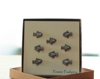 Goldfish Pushpins For Your Corkboard