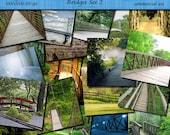 Scenic Backgrounds-Bridges set 2