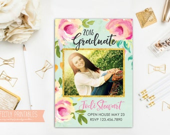 Printable Graduation Announcement