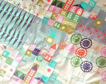 BACK 2 SCHOOL SALE Baby Playmat - Tummy Time Mat - Toddler Quilt - Picnic Blanket - Baby Bedding
