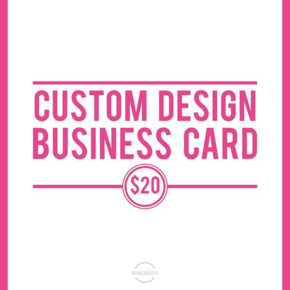 Business Card, Business Card Design, Custom Logo, Made to Match Business Card, Custom Business Card, Business Card Jpeg
