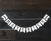 Personalized Mustache Party Banner - Birthday, Baby Shower