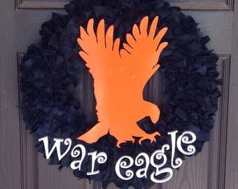 "16"" (medium)War Eagle wreath"