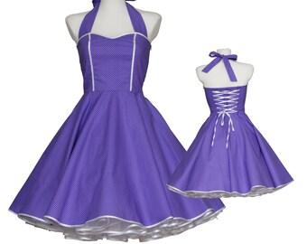 50's vintage dress sweetheart design embellished back Tailor Made custom