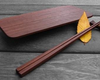 Sushi Set - Hardwood with Hand-rubbed Oil Finish