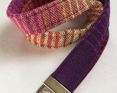 """Wrap Scrap Lanyard, made from Upcycled Nejesa Handwovens """"Canyon"""""""