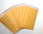 "10 Bubble Pack Mailers 5x10"" Shipping Packaging Supplies Shipping Supply Envelopes Bubble Pack Paper Envelopes by CzechBeadery"