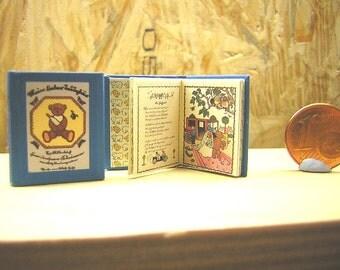 My dear Teddy Bear Miniature book 1/12