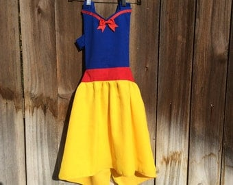 Snow White Inspired costume Apron for Girls