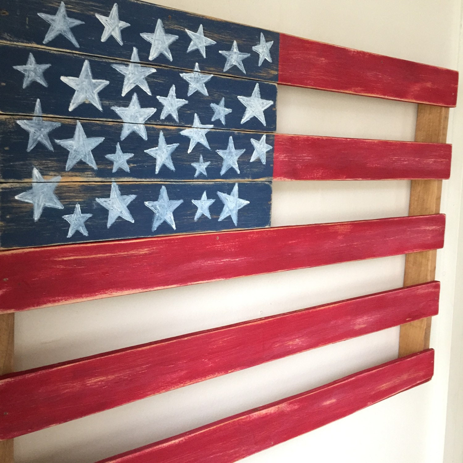 American flag rustic home decor for American flag decoration