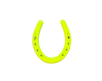 BRIGHT NEON YELLOW - Lucky HorseShoe by Cast & Crew